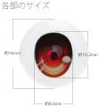 【EYOB-G16】尾櫃瞳(オビツアイ) Gタイプ 16mm