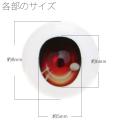 【EYOB-G08】尾櫃瞳(オビツアイ) Gタイプ 8mm
