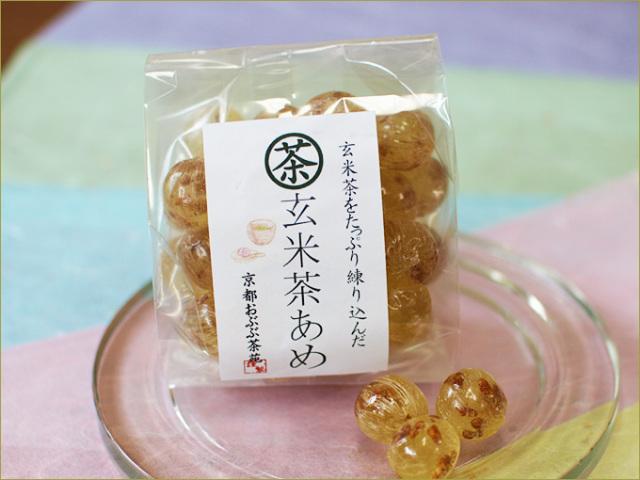 おぶぶの茶飴(玄米茶)
