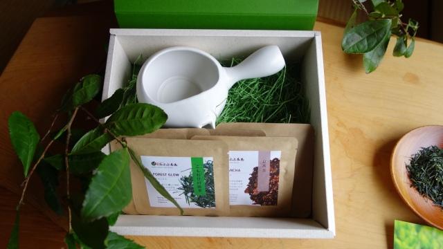 【父の日ギフト】茶器とお茶のセット「まったり」 メッセージカード付※税込送料無料!