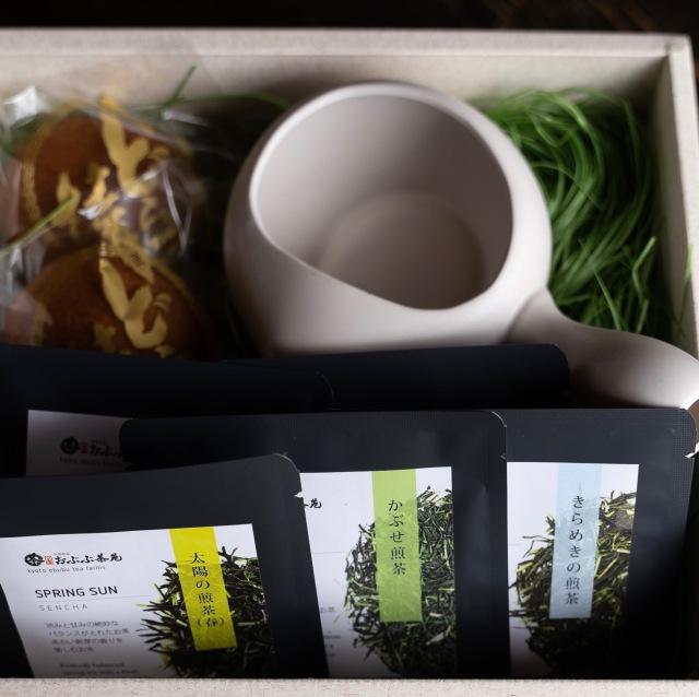 9/1より販売予定【敬老の日ギフト】お茶と和菓子急須のセット【茶寿】※送料無料