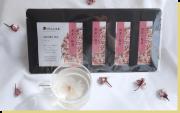 あまい桜茶(桜つぼみの砂糖漬 5g入個袋×4セット15〜20蕾が1袋)※お一人様10袋限り※