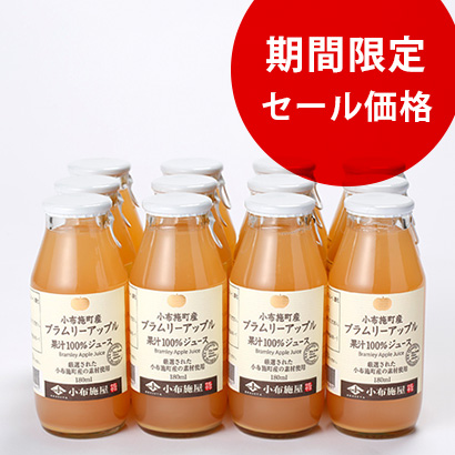 【セール・送料込】ブラムリージュース  180ml 【12本入】