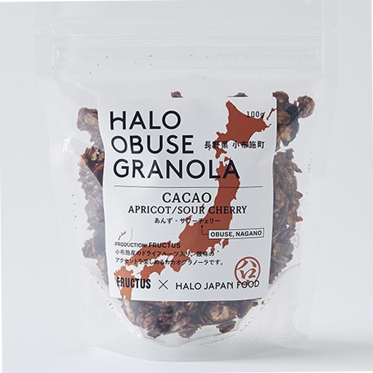 『HALO OBUSE GRANOLA [CACAO]』ハローオブセ グラノーラ[カカオ]