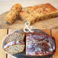 【送料込】栗のケーキとブラムリークランブルケーキ