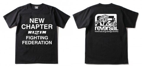 RIZIN × rvddw NEW CHAPTER TEE