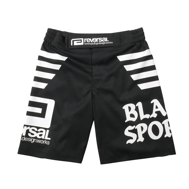 BLACK SPORTS FIGHT SHORTS