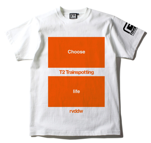 T2 Trainspotting × rvddw Tee