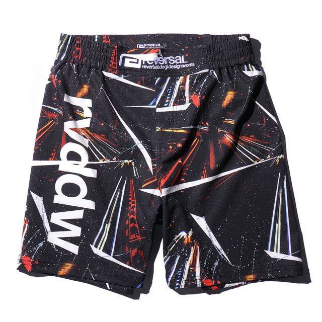NIGHT RACE FIGHT SHORTS