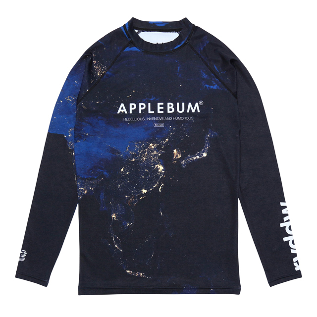 APPLEBUM x rvddw Night Earth RASH GUARD