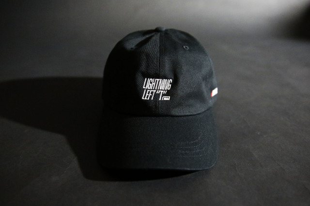 "LIGHTNING LEFT ""T"" LOGO LOW CAP"