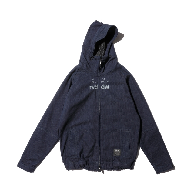 KAIHARA DENIM × rvddw DENIM MOUNTAIN PARKA