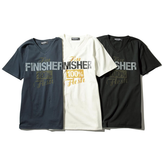 FINISHER V-NECK TEE