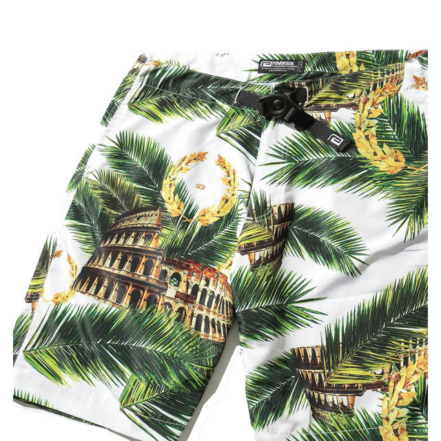 PALM LEAF COLOSSEUM CLIMBING SHORTS