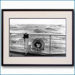 1950年代 客船ユナイテッドステーツ・救命浮環の写真 3291LL黒