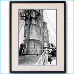 1910年頃 客船ルシタニア・ファンネルの写真 3321LL黒
