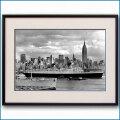 1950年代 客船クイーンエリザベスの写真 2153LL黒