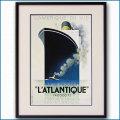1932年 カッサンドルの客船ポスター 2410LL黒