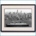 1938年頃 客船ノルマンディーの写真 2489LL黒