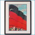 1926年 キュナードラインのポスター 2589LL黒