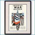 1936年 ダズル迷彩 大英帝国戦争博物館のポスター黒
