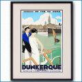 1930年 ロジャー・ブローダー ダンケルクのポスター黒