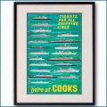 1965年 トーマス・クックのポスター 黒