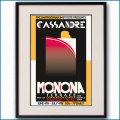 2011年 カッサンドル展のポスター 黒