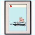 1970年 客船クイーンエリザベス2・コカコーラ雑誌広告 3083LL黒