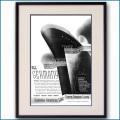 1934年 北ドイツロイド・ハパグ雑誌広告 3086LL黒