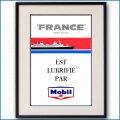 1962年 客船フランス・モービル石油雑誌 3113LL黒
