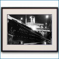 1939年 客船ブレーメン・ニューヨーク脱出前夜の写真 3219LL黒