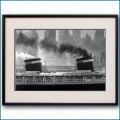 1952年 客船ユナイテッドステーツ・マンハッタンの写真 3220LL黒