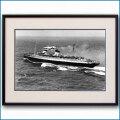 1938年 客船レックスとB-17の写真 3225LL黒