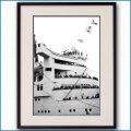 1950年代 客船クイーンメリー・ブリッジの写真 3280LL黒