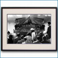 1952年 マンハッタン86番埠頭・客船ユナイテッドステーツ到着の写真 3283LL黒