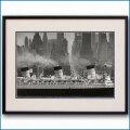 1959年 客船クイーンメリー・マンハッタンの写真 3297LL黒
