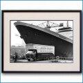 1969年 客船クイーンエリザベス2の写真 3329LL黒