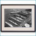 1960年 ニューヨーク客船ターミナルの写真 3331LL黒