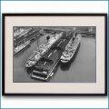 1950年 客船リベルテとイル・ド・フランスの写真 3332LL黒