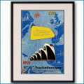 1955年 フレンチライン100周年・雑誌広告 3364LL黒