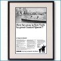 1965年 キュナードクイーン雑誌広告 3374LL 黒