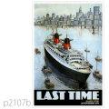 フレンチライン・客船フランスのポスター1982 | レプリカポストカード2107b