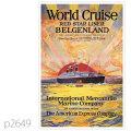 レッドスターライン・客船ベルゲンランドのポスター | レプリカポストカード2649