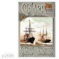 キュナード・客船ウンブリア、エトゥルリア、オレゴンのポスター | レプリカポストカード2686