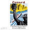 キュナード・客船モーレタニア (1939)のポスター | レプリカポストカード2815