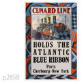 キュナード・客船モーレタニアのポスター | レプリカポストカード2858