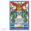 ロイヤルメールライン・客船アトランティスのポスター | レプリカポストカード2876