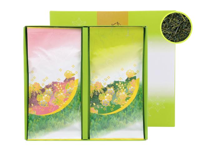 深蒸し煎茶『新野路』100g2袋セット