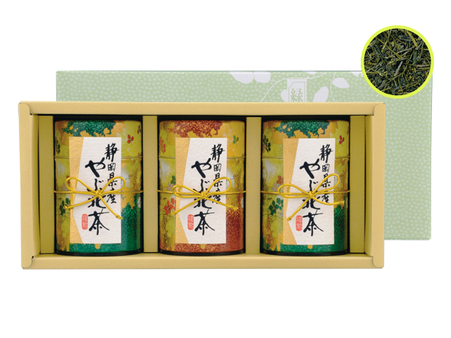 深蒸し煎茶『新野路』100g3缶セット